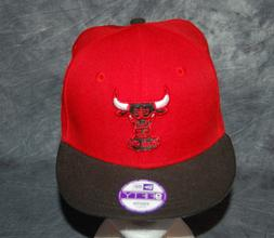 NEW ERA Chicago BULLS Youth Hat - 9FIFTY Adjustable OSFM NEW