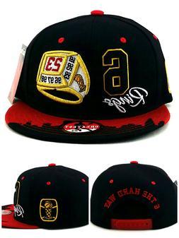 Chicago New Greatest 23 Jordan Bulls Black Red 6 Rings Era S