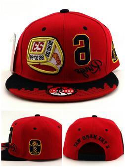Chicago New Greatest 23 Jordan Bulls Red Black 6 Rings Era S