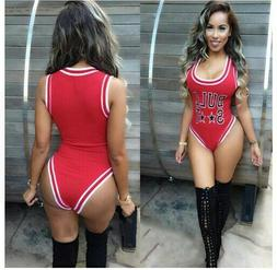 Chicago Bulls Swimsuit Women Bikini Bathing Suit
