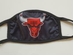 Cloth Face Mask-Chicago Bulls Washable 3 Layers of Cotton -