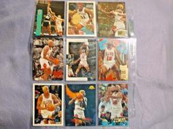 Dennis Rodman Chicago Bulls Lot Of 35 Basketball Cards 1990`
