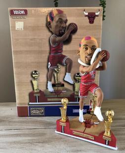 "DENNIS ""The Worm"" RODMAN Chicago Bulls 3x NBA Champ Trop"