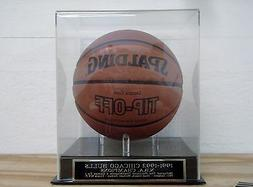 Display Case For Your 1991-1992 Chicago Bulls Autographed Ba