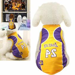 Dog Vest Pet Clothing Puppy Clothes Dog Sport Shirt Basketba