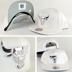 Exclusive Mitchell & Ness Chicago Bulls White Patent Leather