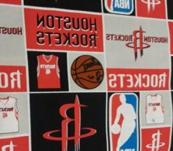 Houston Rockets Cotton Fabric 1 Yard NBA