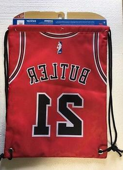 Jimmy Butler #21 Chicago Bulls Jersey Back Pack/Sack Drawstr