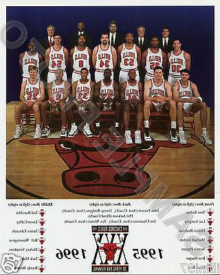 1995 96 chicago bulls nba world champions