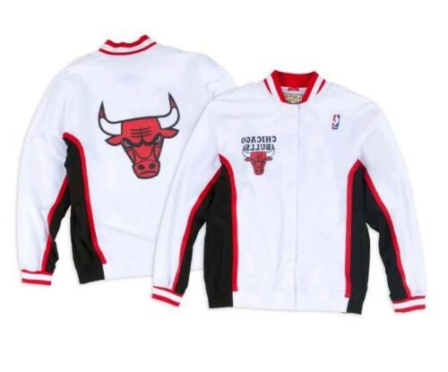 authentic nba mitchell and ness white chicago