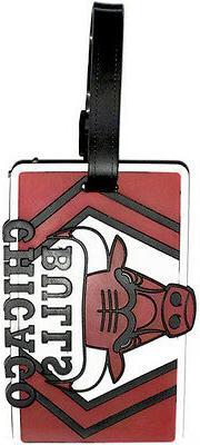 Chicago Bulls Bag Tag Luggage Tag
