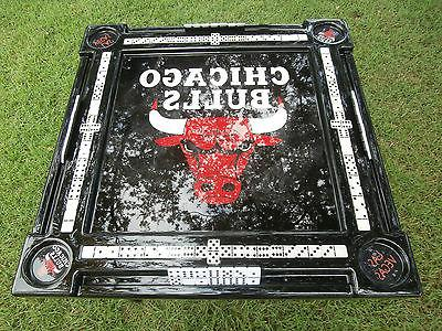 Chicago Bulls Domino Table & we will put your name by Domino