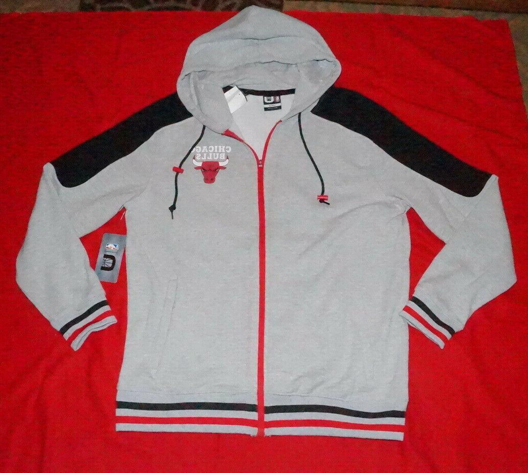 chicago bulls jacket men s fleece hoodie