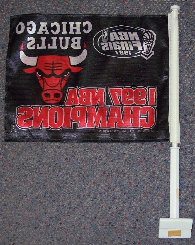 chicago bulls nba 1997 champs car truck