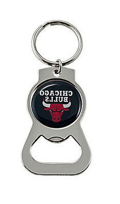 Chicago Bulls NBA Bottle Opener Keychain
