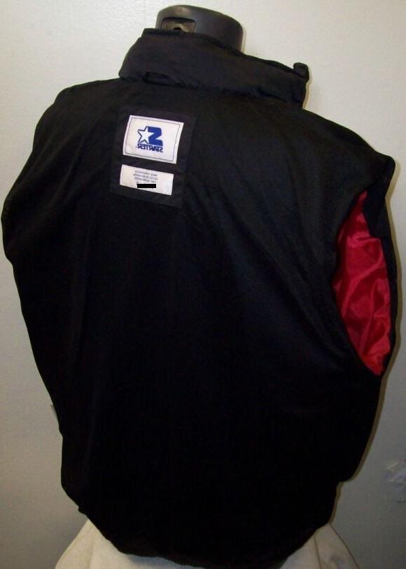 "CHICAGO Starter Jacket ""Gust"" Nylon RED Sewn"