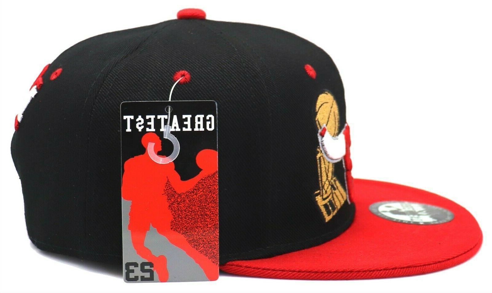 Chicago Greatest 23 Red Trophy Era Hat