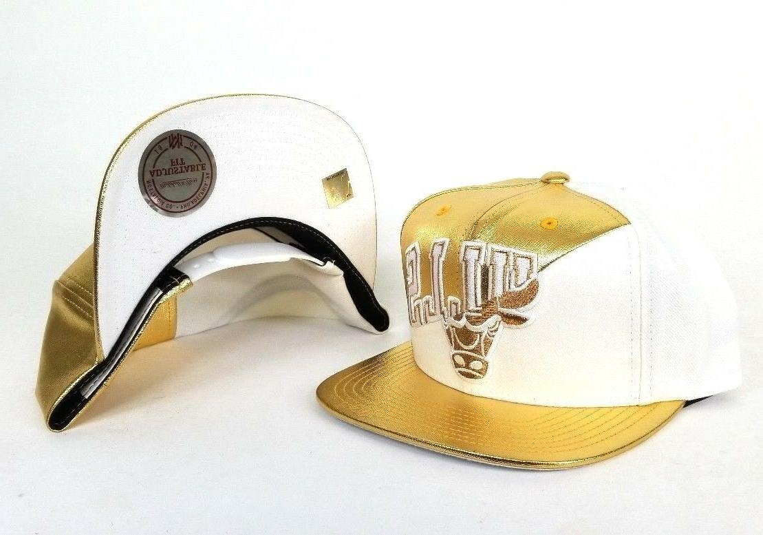 Exclusive Gold Chicago snapback