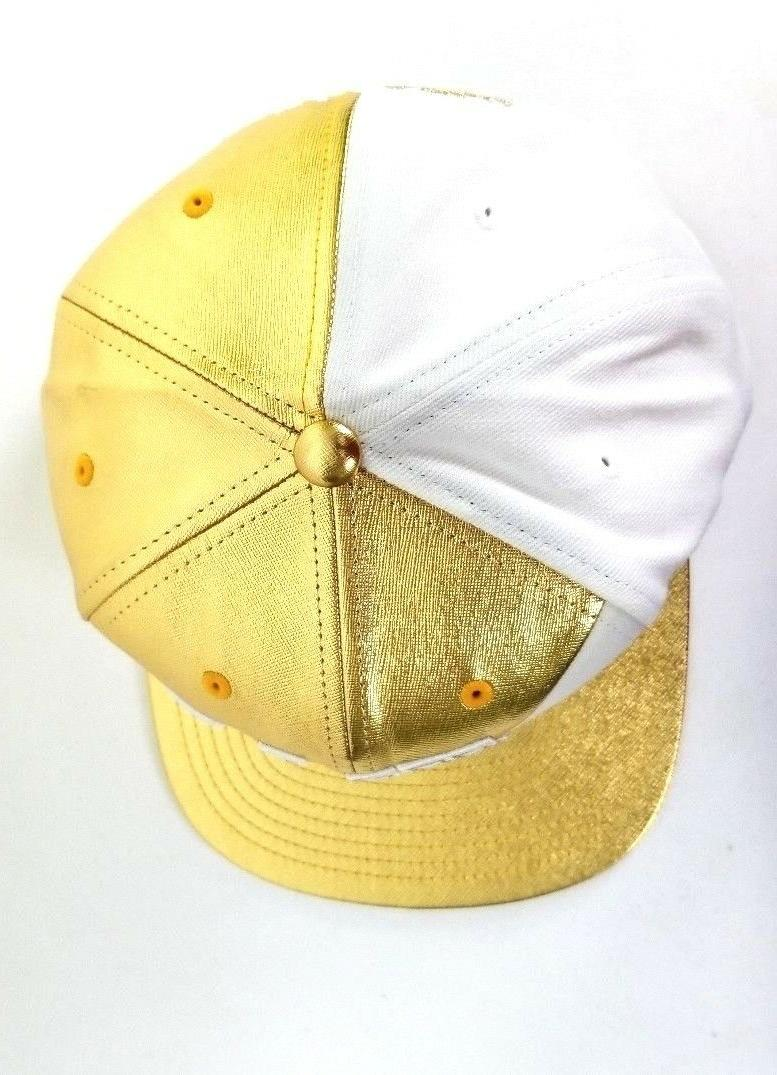 Exclusive Gold Ness Chicago Bulls Hat