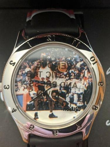 Michael Jordan 1997 Collectible Watch Bulls Basketball by AVON