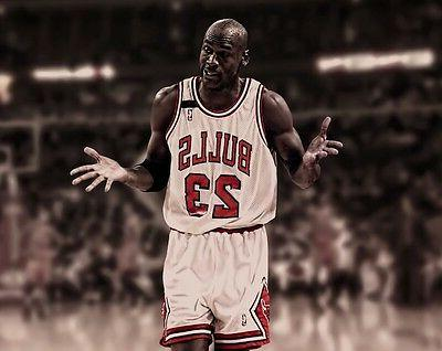 michael jordan chicago bulls photo print poster