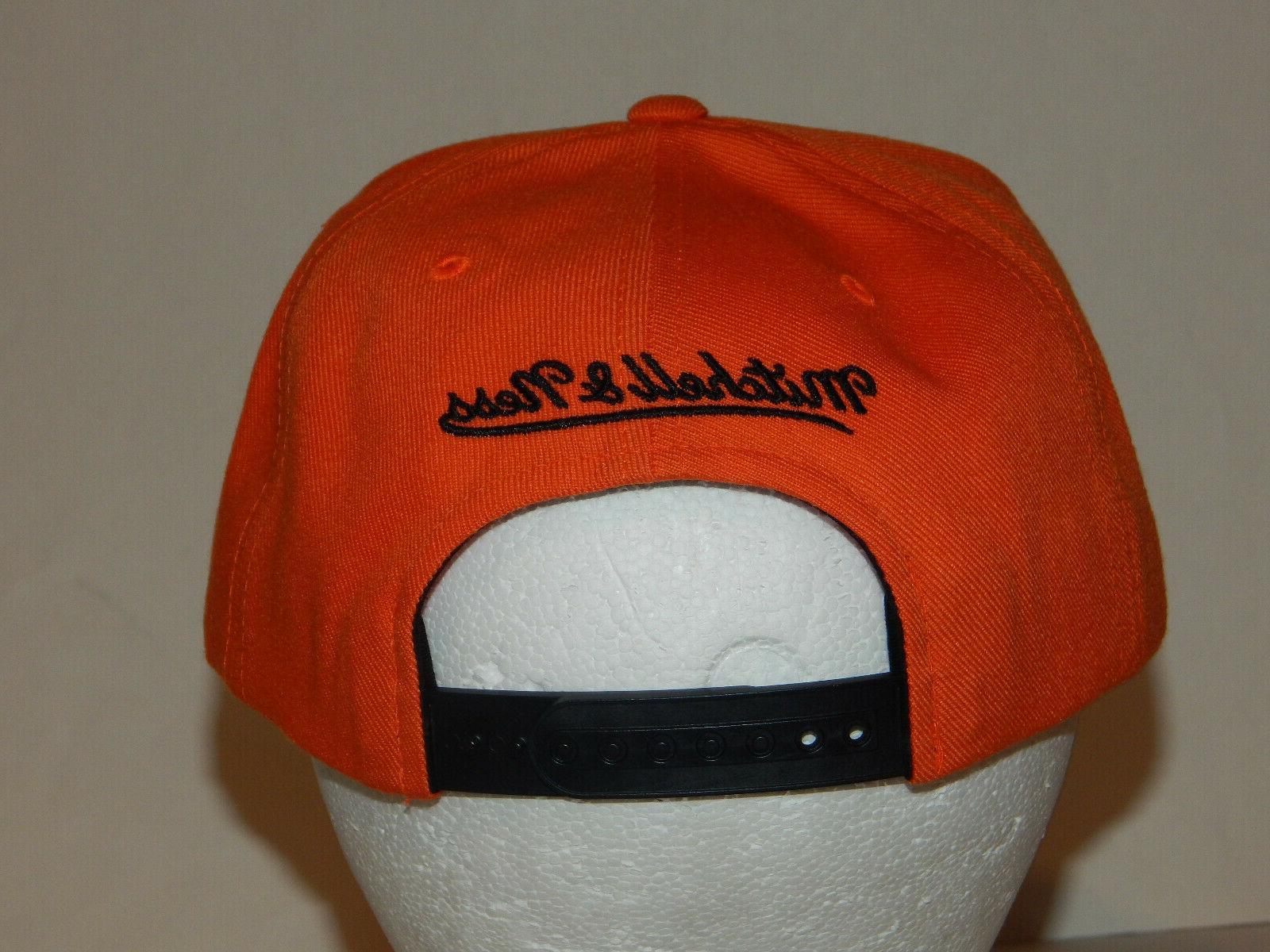 Mitchell Day Hat / Black / Orange Jordan