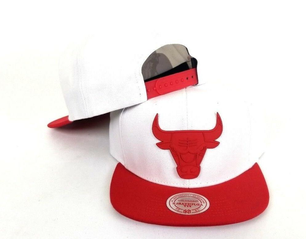 Mitchell & White / Red Metal Badge Logo Chicago Hat