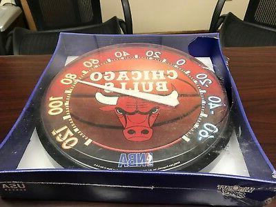 nba chicago bulls basketball team logo outdoor