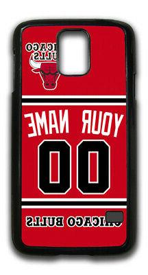 NBA Chicago Bulls Personalized Name/Number Samsung Phone Cas