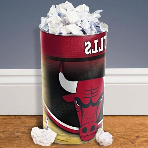 NBA Chicago Bulls Tapered Wastebasket