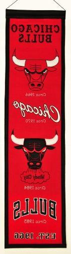 NBA Chicago Bulls Heritage Banner