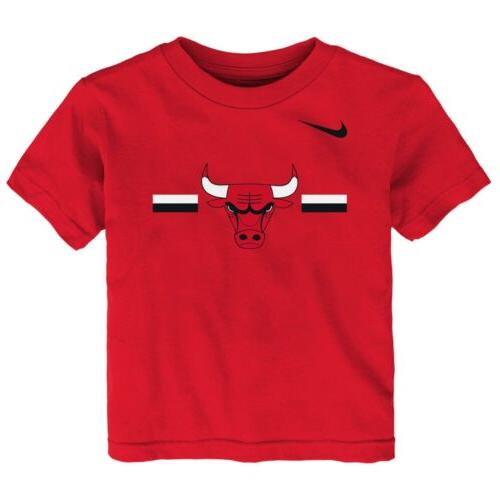 nba toddlers chicago bulls essential logo tee
