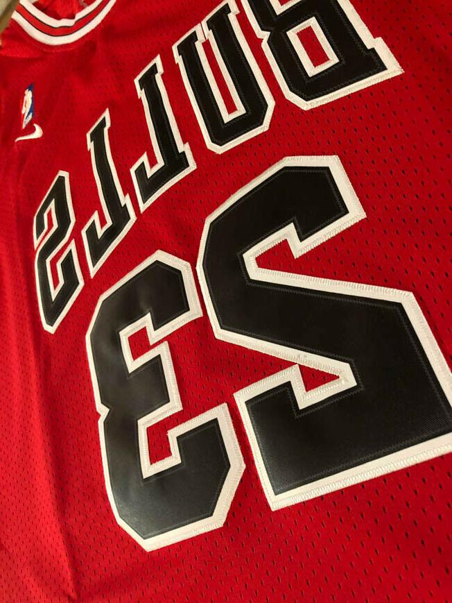 NWT Michael Chicago / Youth Red Stitched Jersey