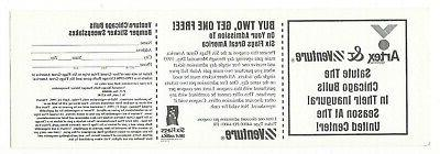 Vintage 1995 Chicago Venture STICKER Jodan Bunny Benny