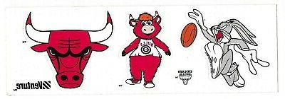 vintage 1995 chicago bulls venture bumper sticker