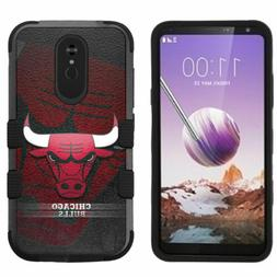 for LG Stylo 5 Armor Impact Hybrid Cover Case Chicago Bulls