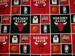 LINED VALANCE 42X15 NBA CHICAGO BULLS JERSEY HOOP BASKETBALL