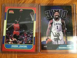 Lot Fleer Michael Jordan Chicago Bulls  Rookie Card RPZion