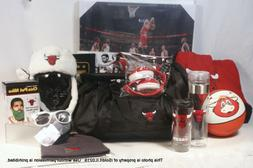LOT NEW CHICAGO BULLS COLLECTIBLES Hats Duffel Bag Water Bot