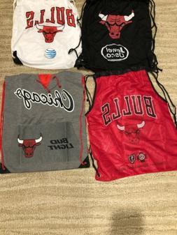 Lot Of Chicago Bulls Drawstring Bags