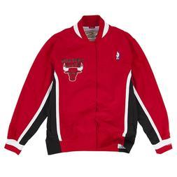 Men's Chicago Bulls Mitchell & Ness Red 1992-93 HWC Authenti