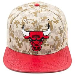 Pro Standard Men's NBA Chicago Bulls Logo Buckle Back Hat Ca