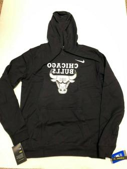 Nike Mens Chicago Bulls NBA Essential Logo Hoodie Sweatshirt