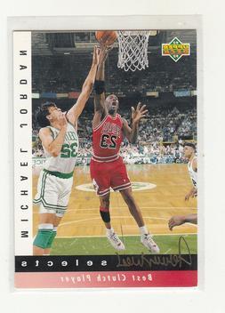 MICHAEL JORDAN 1992-93 Upper Deck Jerry West Insert #JW9 Chi