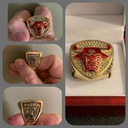 Michael Jordan - 1993 NBA Chicago Bulls Championship Ring Wi