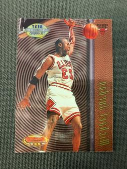 MICHAEL JORDAN 1998 BOWMANS BEST TECHNIQUES INSERT CARD #T2