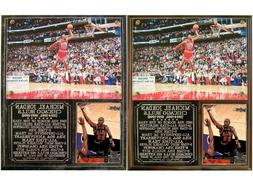Michael Jordan #23 Chicago Bulls 5-Time MVP Photo Card Plaqu