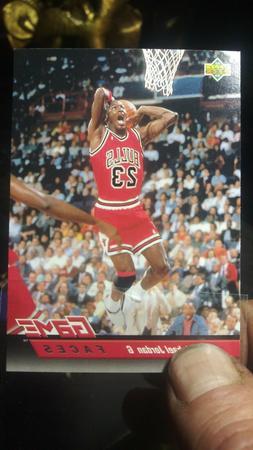 MICHAEL JORDAN #23 CHICAGO BULLS 92-93 UPPER DECK GF CARD #4