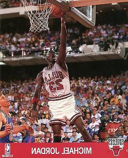 MICHAEL JORDAN ~ 8x10 Color Photo Picture ~ Layup ~ Chicago