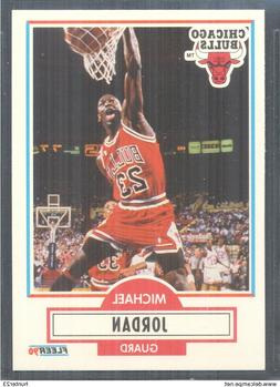 "Michael Jordan, ""Chicago Bulls"", 1990-91 Fleer Basketball Ca"